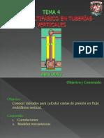Tema 4_flujo Multifasico en Tuberias Verticales_primera y Segunda Parte_27 Abril