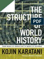 The Structure of World History by Kojin Karatani