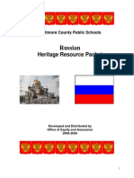 Russian history and culture