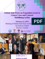 Global Task Force on Expanded Access to  Cancer Care and Control