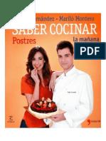 Saber Cocinar Postres