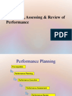 Assessing and Analysing Performance