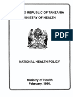 Nationahealthpolicy