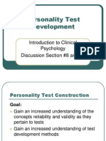 D8 and D9 Personality Test Development 10-2007-Posting