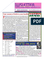 ASTROAMERICA NEWSLETTER DATED NOVEMBER 19, 2013