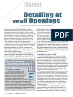 Article - Bar Detailing at Wall Openings - CRSI