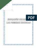 EDUCACIÓN COLONIAL