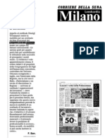 Corriere della Sera - 2 ottobre 2009