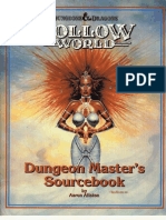 TSR 1054 Hollow World (Boxed Set) Dungeon Master's Source Book