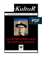 La Antropobiología de Arnold Gehlen