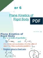 Chapter 6 Plane Kinetics of Rigid Body