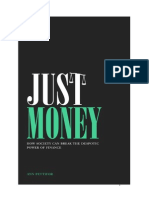 Just Money Ann Pettifor