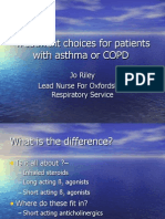 Treatment for Asthma or COPD