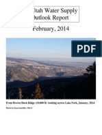Utah Water Supply Outlook, February 2014
