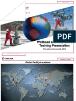 Surface Systems Wellhead Training File (10 Puntos)