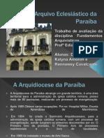 Arquivo Eclesiástico da Paraíba