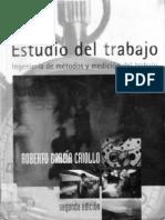 Estudio Del Trabajo - Roberto Garcia Criollo