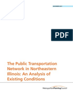 Chicago Transit Analysis Existing Conditions