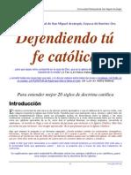 Defendiendo tu fe católica 1