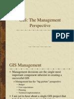 GIS- Management