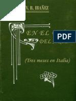En-el-país-del-arte-tres-meses-en-Italia-Blasco Ibañez