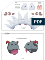 Poro papercraft - League of legend