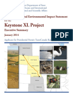 Final Supplemental Environmental Impact Statement for the Keystone XL Project -Executive Summary