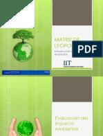 Exposicion Impacto Ambiental - Matriz de Leopold