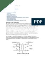 Principios de la detección de gas