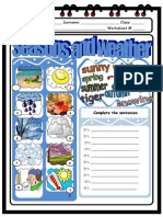 Islcollective Worksheets Elementary a1 Elementary School Writing Seasons Worksheet Weather 21684f3d0a056c2450 52865229