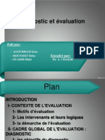 Diagnostic Et Evaluation Ppt