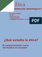 Etica Unidad 1
