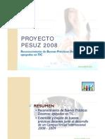 registro PIIZUZ 2008-2009