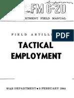FM 6-20 Tactical Employment 1944
