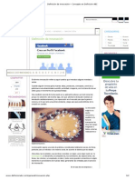 Definición de Innovación » Concepto en Definición ABC.pdf