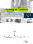 Building for Creativity