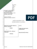 Hewlett Packard Company v. ServiceNow