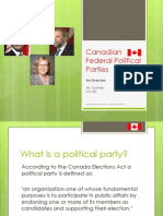 chv20 canadian political parties