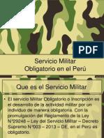 Servicio Militar Obligatorio en el Perú.ppt