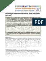 Migration and Development Brief 21