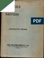 Schools of Saivism - Jadunath Sinha