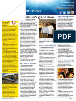 Business Events News for Fri 07 Feb 2014 - Platinum\'s grand slam, Disney magic at AIME, NCCC\'s new DSM and much more