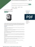 Energy Meter Electric Power Meter