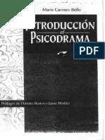 Bello, María Carmen -  Introducción al Psicodrama.pdf