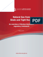 Natural Gas From Shale and Tight Rocks - An Overview of Western Australia Regulatory Framework