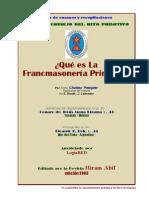 la masonería primitiva.pdf