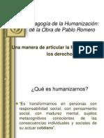 2. pedagogia de la humanizacion. 140409.ppt