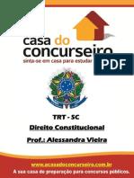 Apostila Trt - Sc - Alessandra Vieira Dto Constitucional