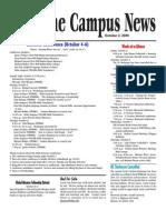 Campus News 10/2/09