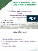 Role of Mediator
